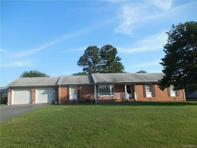 Hanover County Rental For Rent: 7352 Walnut Grove Drive