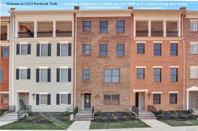 Henrico Condo/Townhouse For Sale: 12333 Purbrook Walk