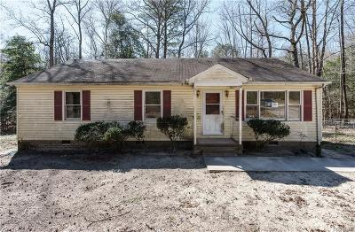King William Single Family Home For Sale: 174 Mill Road