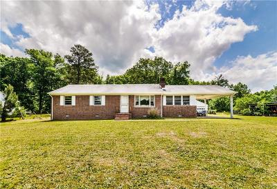 Hanover Single Family Home For Sale: 11520 Hanover Courthouse Road