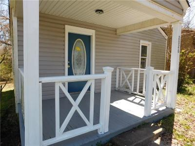 Petersburg Single Family Home For Sale: 2026 Dupuy Road