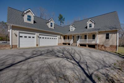 Colonial Heights, Hopewell, Prince George Single Family Home For Sale: 11196 Countryside Lane