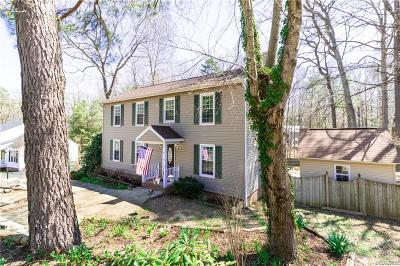 Chesterfield Single Family Home For Sale: 4525 Burgess House Lane