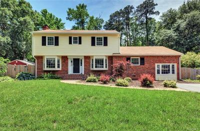 Henrico Single Family Home For Sale: 9205 Westmoor Drive
