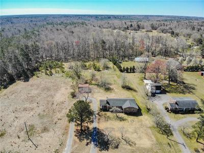 South Chesterfield Single Family Home For Sale: 7711 River Road