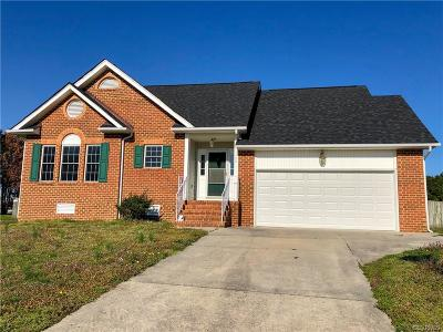 Colonial Heights Single Family Home For Sale: 349 Shade Tree Drive