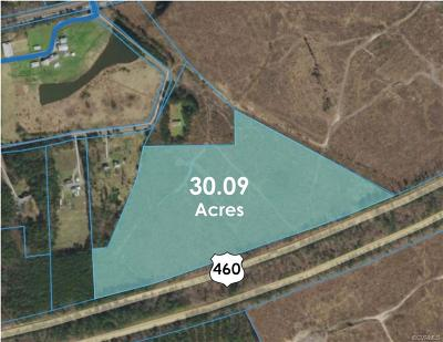 Dinwiddie Land For Sale: 0000 Karissa Farm Drive
