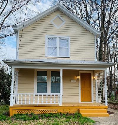 Richmond Single Family Home For Sale: 504 Arnold Avenue