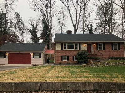 Henrico County Rental For Rent: 1701 Ranch Drive