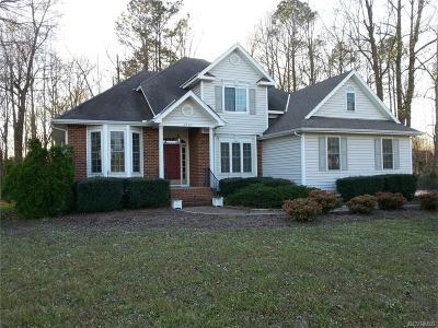 Colonial Heights, Hopewell, Prince George Single Family Home For Sale: 4200 Cedar Creek Lane