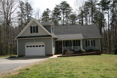 Powhatan Single Family Home For Sale: 4273 Lockin Road
