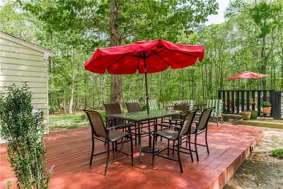 Powhatan Single Family Home For Sale: 2212 Mill Road