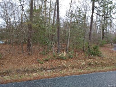 Colonial Heights, Hopewell, Prince George Land For Sale: Tbd Old Stage Road