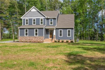 Powhatan Single Family Home For Sale: 1960 Walnut Tree Road