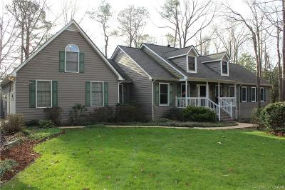 Heathsville Single Family Home For Sale: 96 Blue Heron Court
