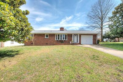Hopewell Single Family Home For Sale: 109 S Radford Drive