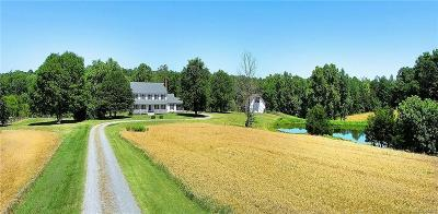 Goochland County Single Family Home For Sale: 2054 Cardwell Road