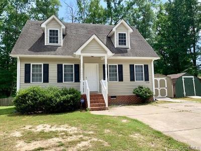Hopewell Single Family Home For Sale: 2134 Dublin Street