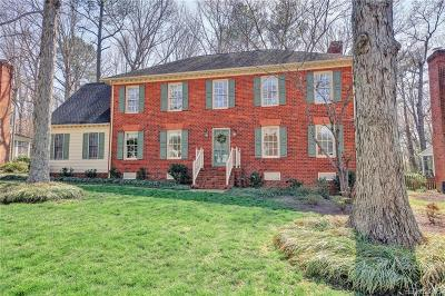 Henrico Single Family Home For Sale: 2709 Dalkeith Drive