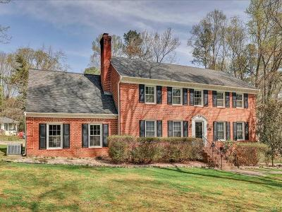 Richmond Single Family Home For Sale: 3800 Traylor Drive