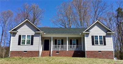 Aylett Single Family Home For Sale: 116 Pine Haven Road