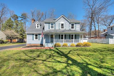 Chester VA Single Family Home For Sale: $235,000