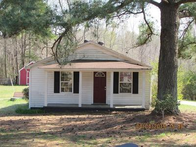 Single Family Home Sold: 12901 Ruth Hill Road