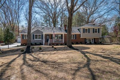 Henrico Single Family Home For Sale: 8511 Fordson Road