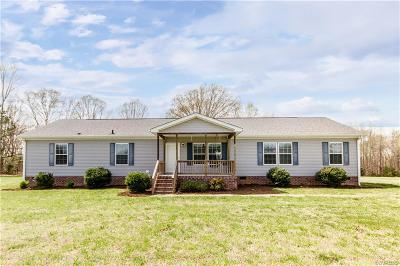 Dinwiddie County Single Family Home For Sale: 17200 Old Cryors Road