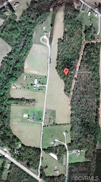 Land For Sale: 13417 Hines Road