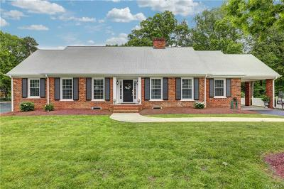 Colonial Heights Single Family Home For Sale: 1221 Duke Of Gloucester Street