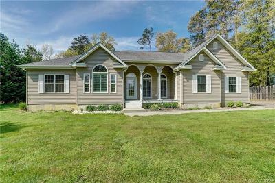 Heathsville Single Family Home For Sale: 128 Heron Court