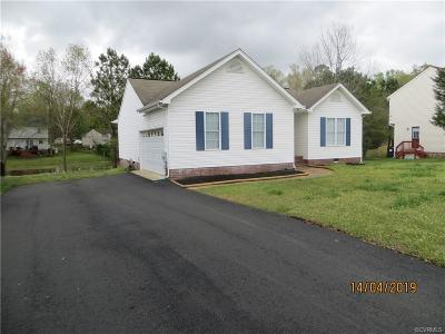 Chester Single Family Home For Sale: 11200 Wiltstaff Drive