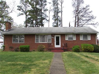 Richmond Single Family Home For Sale: 4704 Colwyck Drive