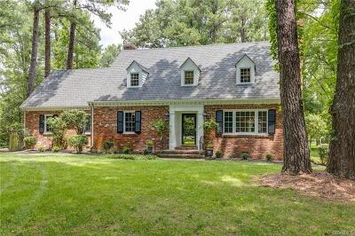Midlothian Single Family Home For Sale: 4201 E Old Gun Road