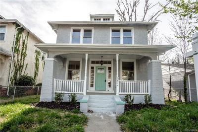 Richmond Single Family Home For Sale: 3102 North Avenue