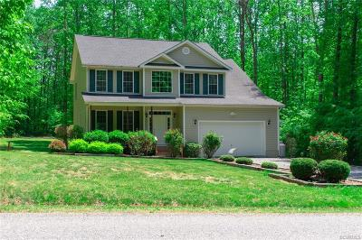 Ruther Glen Single Family Home For Sale: 11209 Piney Forest