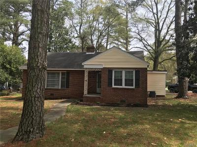 Colonial Heights Single Family Home For Sale: 703 Conduit Road