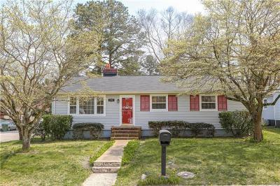 Hopewell Single Family Home For Sale: 2900 Clingman Street