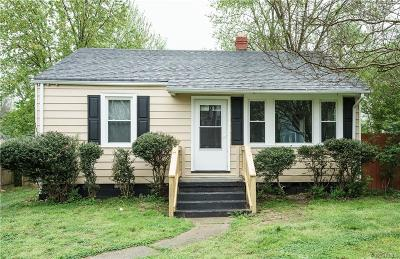 Richmond Single Family Home For Sale: 1807 Accomac Street