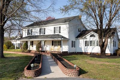 Crewe Single Family Home For Sale: 3122 West Creek Road