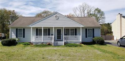 Dinwiddie County Single Family Home For Sale: 24800 Brickwood Meadow Lane
