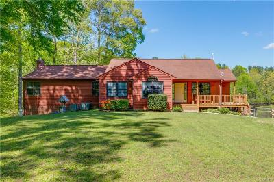 Amelia County Single Family Home For Sale: 21300 Farmers Lane