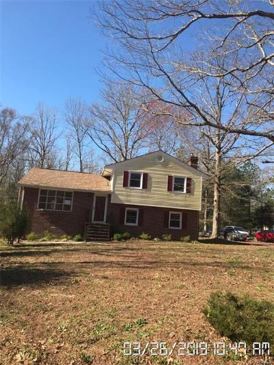 South Chesterfield Single Family Home For Sale: 7801 Serena Lane