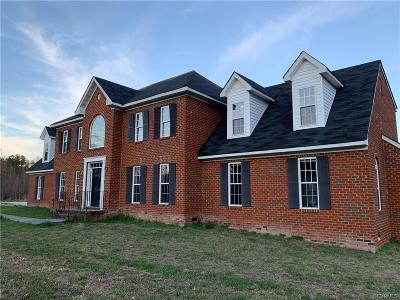 Single Family Home For Sale: 16999 Fox Branch Road