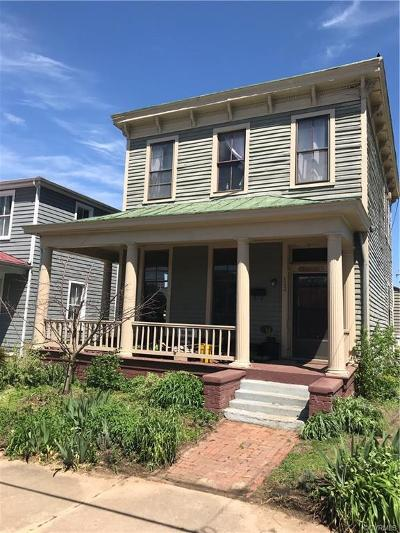 Petersburg Single Family Home For Sale: 133 S Market Street