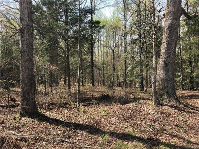 Charles City Land For Sale: 100 Old Union