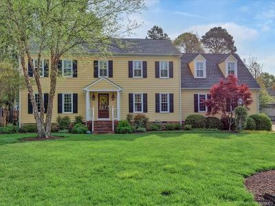 Henrico Single Family Home For Sale: 12102 Waterford Way Place