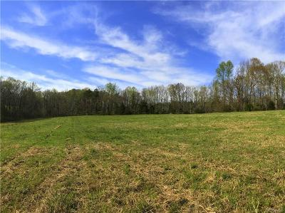 Amelia County Land For Sale: 10.819 Acres Patrick Henry Highway