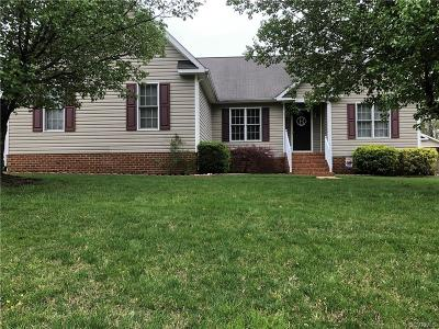Mechanicsville Single Family Home For Sale: 7067 Brooks Hollow Parkway